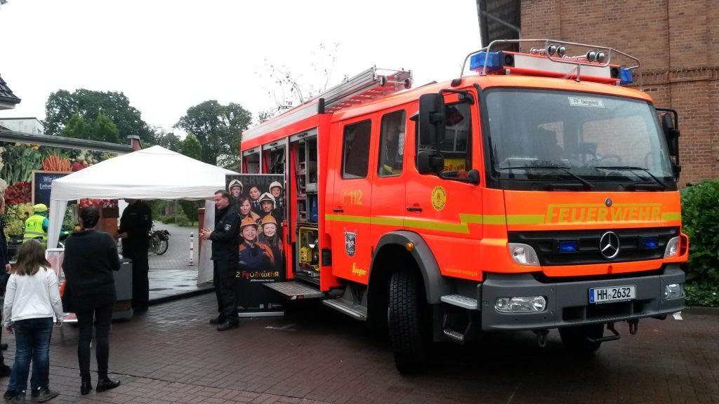 Was? Feuerwehr-Mettwurst?